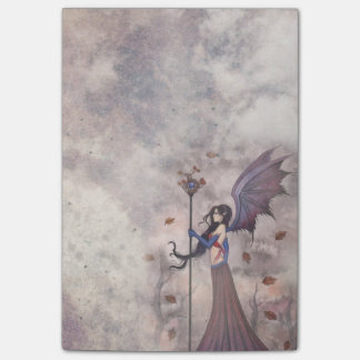 Heart of Autumn Fairy Vampire Gothic Art Post-it Notes