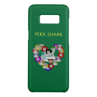 Heart of Billiards Shark Pool Shark Case-Mate Samsung Galaxy S8 Case