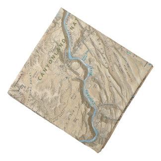 Heart of Canyonlands (Utah) map bandana