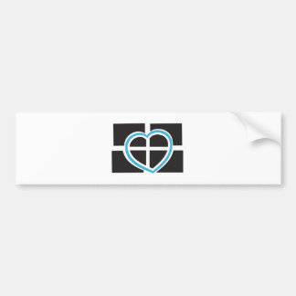 Heart of Cornwall Bumper Sticker