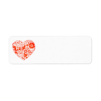 Heart of Country Return Address Labels