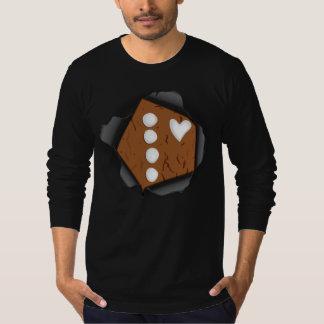 Heart of Gingerbread Man T-Shirt