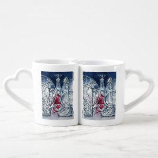 Heart of Glass Lovers' Mug Set Lovers Mug