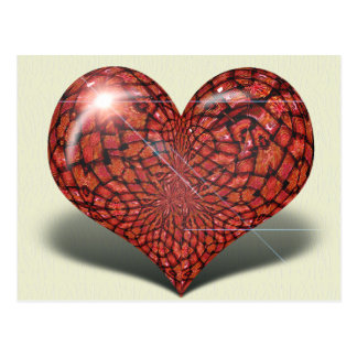 Heart of Glass Postcard