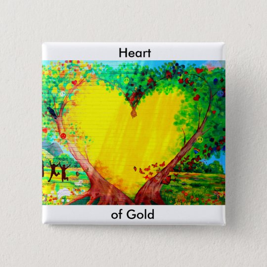 heart of gold button