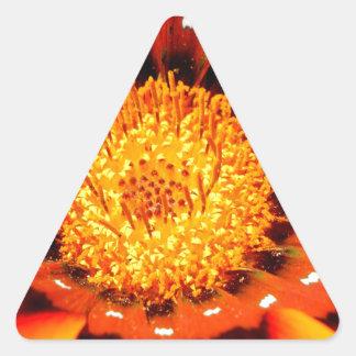 Heart of Gold.jpg Triangle Sticker