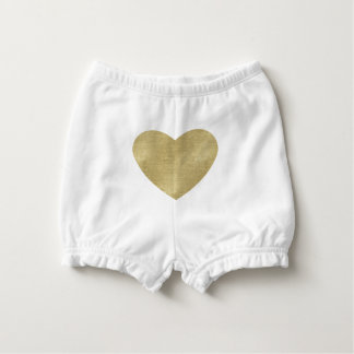 Heart of Gold Nappy Cover