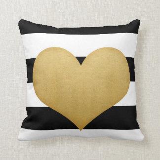 Heart of Gold Pillow Cushions