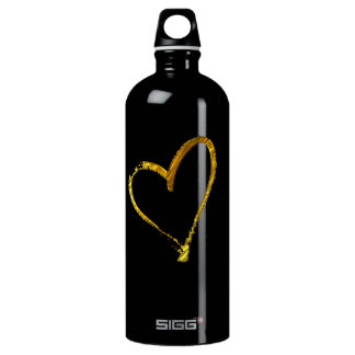 heart of gold sports water bottle design