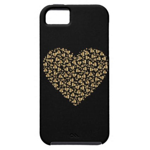 Heart of Gold Valentine Iphone Se/5/5s Case