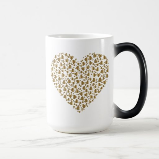 Heart of Gold Valentine Magic Mug
