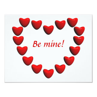 Heart of Hearts 11 Cm X 14 Cm Invitation Card