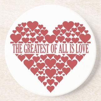 Heart of Hearts custom coaster