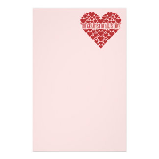 Heart of Hearts custom stationary Stationery