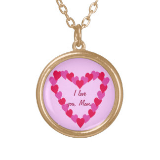 Heart of Hearts, I love you Mom, necklaces