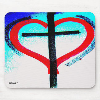 """Heart of Hearts"" Mouse Mat"