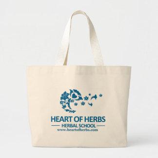Heart of Herbs Herbal School Jumbo Tote