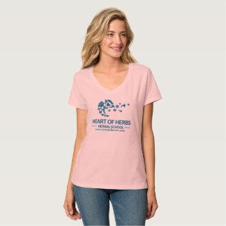 Heart of Herbs Herbal School V-Neck T-Shirt