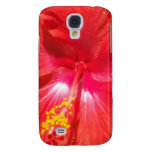Heart of Hisbiscus Samsung Galaxy S4 Cases