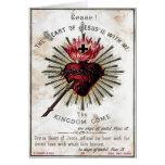 Heart Of Jesus Card