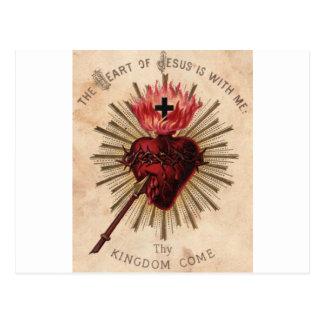Heart of Jesus (small) Postcard