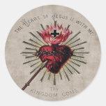 Heart Of Jesus Sticker