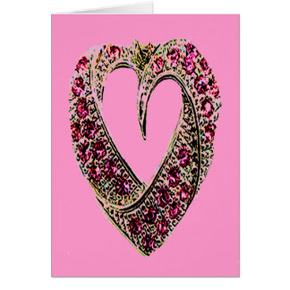 HEART OF JEWELS GREETING CARD