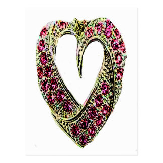 HEART OF JEWELS POST CARD