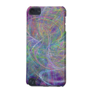 Heart of Light – Aqua Flames & Indigo Swirls iPod Touch (5th Generation) Cover