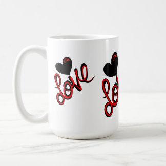 Heart of Love Basic White Mug