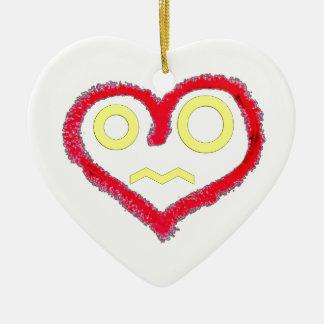 Heart Of Love Ceramic Heart Decoration