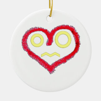 Heart Of Love Christmas Ornament