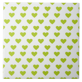 Heart of Love Large Square Tile