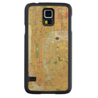 Heart of New York Carved Maple Galaxy S5 Case