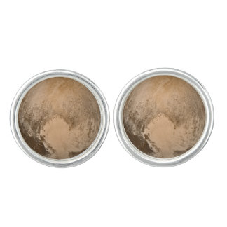 Heart of Pluto Cufflinks