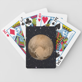Heart of Pluto Starry Sky Bicycle Playing Cards