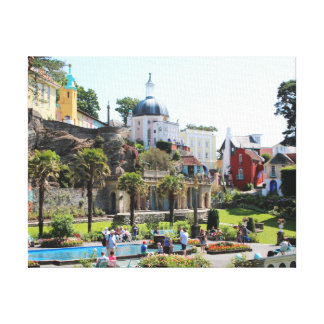 Heart Of Portmeirion Canvas Print