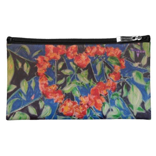 Heart of Roses Makeup Bag
