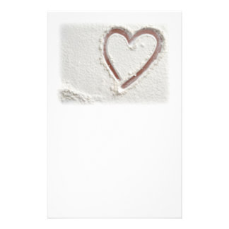 Heart of Sand Stationery Design