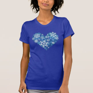 Heart of Snowflakes winter shirts