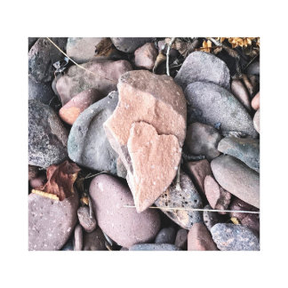 Heart of Stone on Canvas