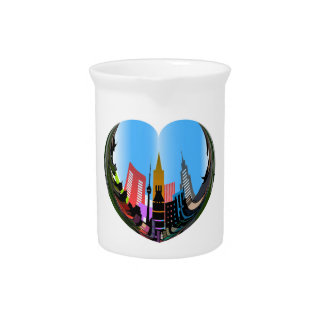 HEART OF THE CITY PITCHER