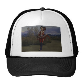 Heart of the Dragon Mesh Hat