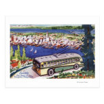 Heart of the Evergreen Playground Post Card