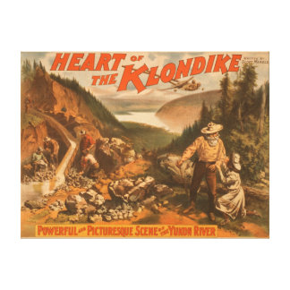 Heart of the Klondike Gold Mining Theatre Canvas Print
