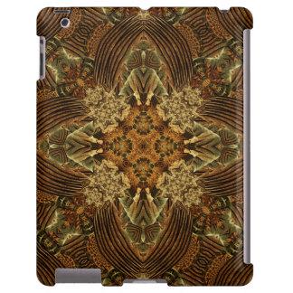 Heart of the Machine Mandala iPad Case