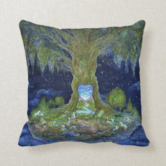 Heart of the Tree Throw Pillow