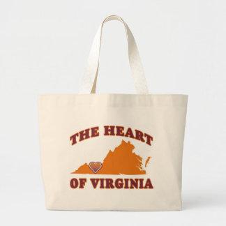 Heart of Virginia Tote Bag