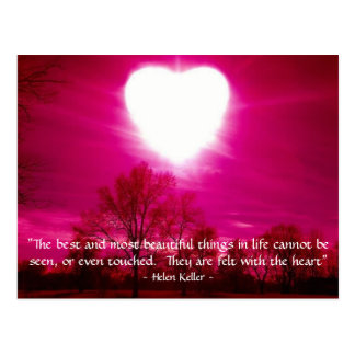 Heart on Fire - Postcard