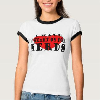 Heart On Nerds T-shirts
